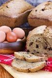 Pan fresco del calabacín Imagen de archivo