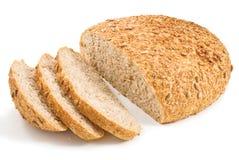 Pan fresco del corte con los gérmenes del girasol Fotos de archivo