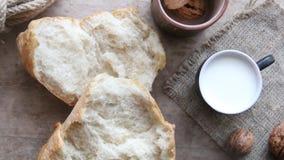 Pan fresco en el vector metrajes