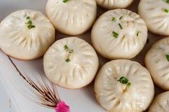 Pan-Fried Baozi Royalty Free Stock Photography