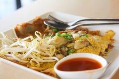 Pan-fried crispy mussel Thai style. Image Stock Photo
