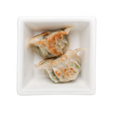 Pan-fried dumpling royalty free stock photo