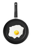 Pan with Fried Egg Royalty Free Stock Photos