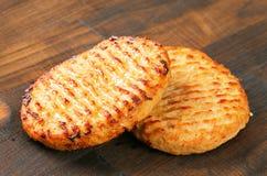 Pan fried patties Royalty Free Stock Photos