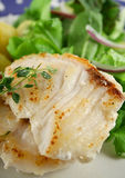 Pan Fried Perch Fillets Royalty Free Stock Photo