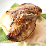 Pan Fried Quail Stock Images