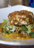 Pan-fried salmon 2 Royalty Free Stock Photos