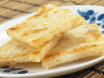Pan-Fried Taro Cakes Stock Image