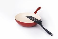 Pan for frying Royalty Free Stock Images