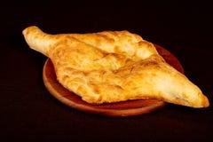 Pan georgiano - Lavash imagen de archivo libre de regalías