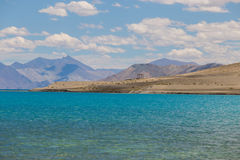 Pan gong lake. Beautiful scenic view of Pan gong lake Royalty Free Stock Image