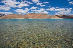 Pan gong lake. Beautiful scenic view of Pan gong lake Royalty Free Stock Images