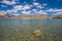 Pan gong lake. Beautiful scenic view of Pan gong lake Stock Photo