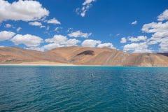 Pan gong lake. Beautiful scenic view of Pan gong lake Royalty Free Stock Photo