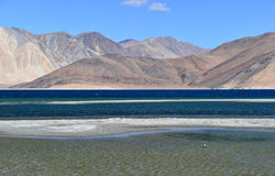 Pan gong Lake. This is a photo of Pan gong Lake in India Stock Photography