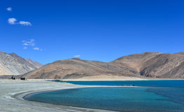 Pan gong Lake. This is a photo of Pan gong Lake in India Royalty Free Stock Images