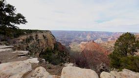 Pan am Grand Canyon 3 des Wüstenstandpunkts stock video