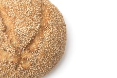 Pan granoso del artesano foto de archivo