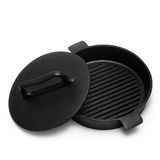 Pan grill isolated on white background Royalty Free Stock Photo