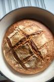 Pan hecho casero delicioso imagenes de archivo