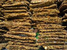 Pan hecho en casa crudo Foto de archivo libre de regalías