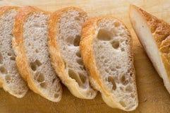 Pan hecho en casa del trigo fotografía de archivo