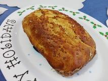 Pan hecho en casa delicioso Imagen de archivo