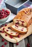 Pan hecho en casa fresco delicioso del arándano Fotografía de archivo libre de regalías