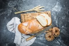 Pan hecho en casa fresco fotos de archivo libres de regalías