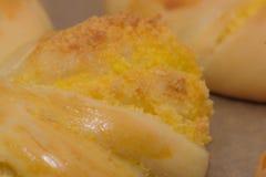 Pan hecho a mano puro del coco fotos de archivo