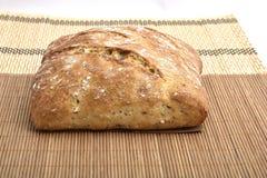 Pan integral orgánico Foto de archivo