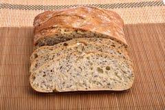 Pan integral orgánico Foto de archivo libre de regalías