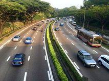 Pan Island Expressway Immagine Stock Libera da Diritti