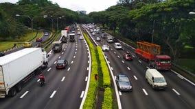 Pan Island Expressway royalty free stock photos