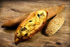 Pan italiano cocido al horno fresco Imagen de archivo libre de regalías