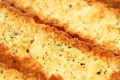 Pan italiano del bruschetta Imagen de archivo libre de regalías