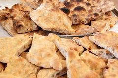 Pan italiano del focaccia Foto de archivo libre de regalías