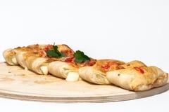 Pan italiano, pizza, calzone Fotos de archivo libres de regalías