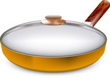 Pan kitchen Royalty Free Stock Photos