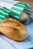 Pan largo blanco foto de archivo libre de regalías