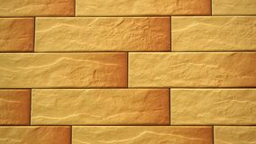 Pan of light decorative seamless brick home. Brickwork background. Figure block. Clear place for your isolated text pattern. Empty space for your title copy stock video footage