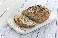 Pan marrón hecho en casa Foto de archivo libre de regalías