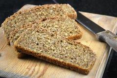 Pan marrón hecho en casa Imagen de archivo libre de regalías