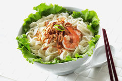 Pan mee Stock Photo
