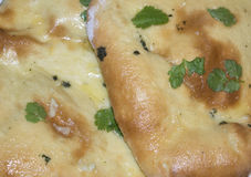 Pan naan hecho en casa Fotografía de archivo