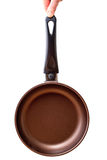 Pan with non-stick coating Stock Images