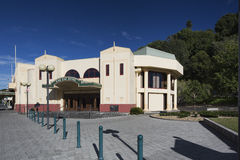 The Pan Pac Foyer in Napier Stock Images
