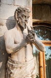 Pan playing the flute Stock Photos