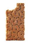 Pan quebradizo de la dieta fotografía de archivo libre de regalías