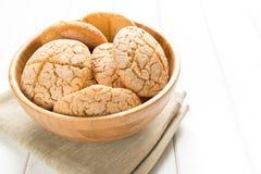 Pan rústico con la harina de arroz Foto de archivo libre de regalías